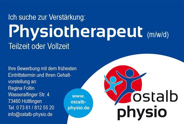 Ostalb Physio - Die Physiotherapiepraxis in Hüttlingen mit ...